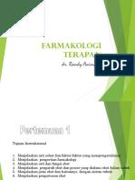 Materi Farmakologi UMG