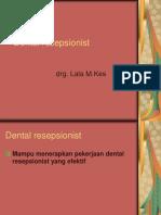 Dental Resepsionist