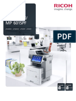 Folleto MFP Ricoh MP 501