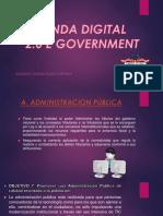 Agenda Digital Ppt