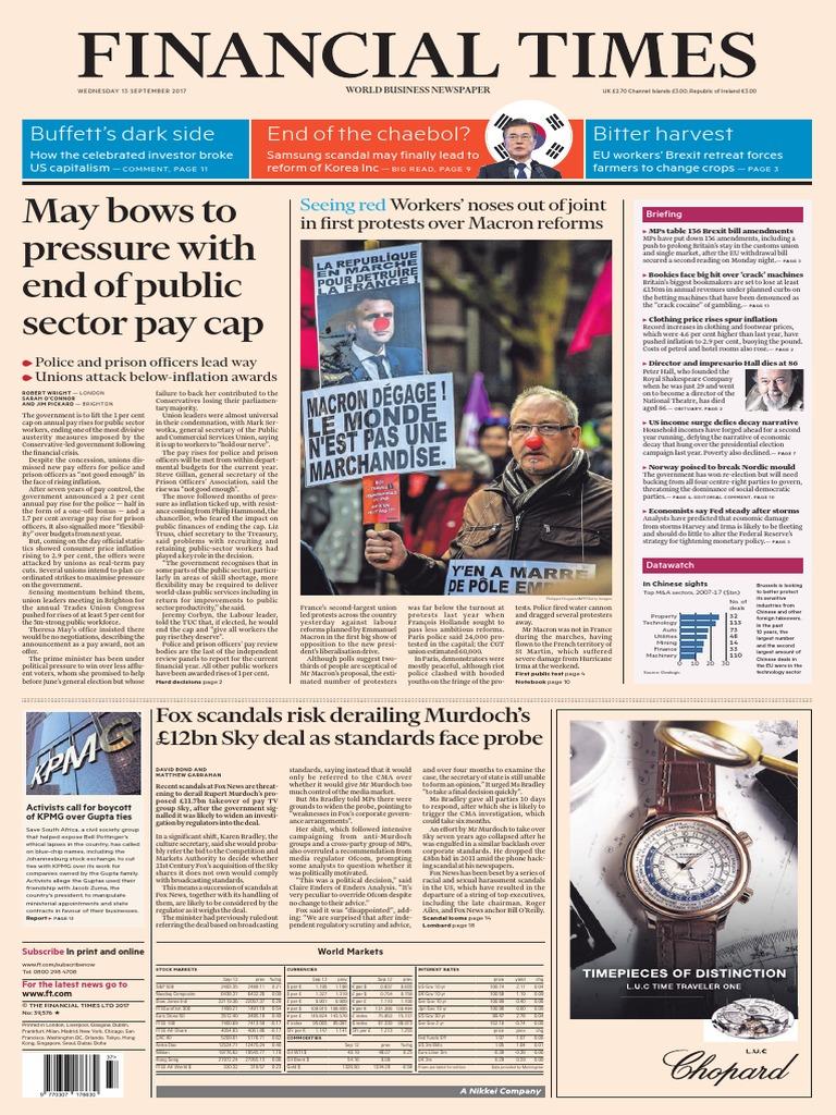 Financial Times UK 25 September 25   PDF   Rupert Murdoch ...
