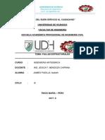 PRINCIPALES CAUSAS DE FALLAS EN EDIFICACIONES SOMETIDAS A ACCIONES SÍSMICAS.docx