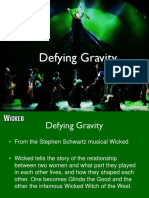Defying Gravity