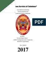 Avanse de La Monografia Ingenieria Civil- Etructuras (Tic)