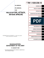 Operator's Manual for Helicopter, Attack, Ah-64A Apache