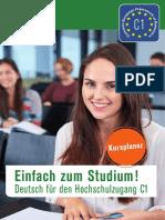 Deutsch C1 Hochschule Unterrichtsmaterial Kursplaner