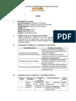 Formato Silabo Analisis y Diseño de Sistemas de Informacion