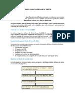Modelamiento de Base de Datos