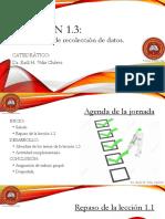 Lección 1.3 Instrumentos de Recolección de Información