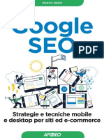Google SEO Strategie e Tecniche Mobile e Desktop Per Siti Ed E-commerce