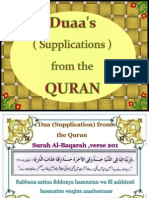 Duaa's (Supplications)From the Quran