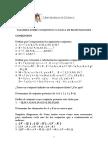 Taller Sobre Conjuntos y Logica de Proposiciones 2017