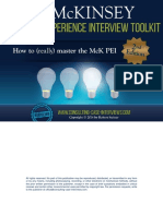 Your Free Mckinsey Pei Toolkit Sample