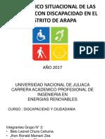 Diagnostico Situacional de Las Personas Con Discapacidad