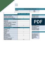 Planilla Excel - Antropometría