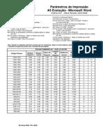 PIMACO-Parâmetros_ A5 Evolution - Word