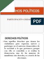 Derechos Políticos y Participación Ciudadana