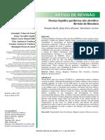 Doença Hepática Gordurosa Não Alcoólica-revisão de Literatura