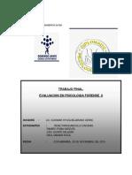 Analisis de Informe o Dictamen Psicologico.