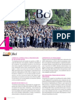 RSE- Reportaje BCI (cuarto lugar, acreditación ORO)Reportaje Revista Qué Pasa Ranking Nacional RSE PROhumana 2010