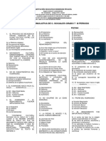 Evaluacion Acumulativa de c. Sociales Grado 7
