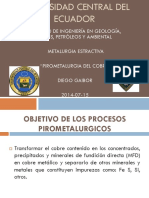 Pirometalurgia Del Cobre