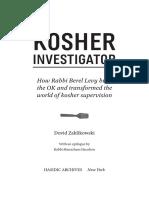 Kosher Investigator Excerpt