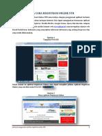 Panduan Tata Cara Registrasi Online Simponi
