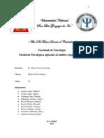Medición psicológica aplicada a la psicología organizacional