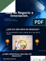 Idea de Negocio e Innovación.