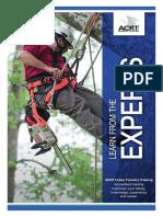 Arborist Training Catalog 2017