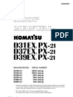 BULLDOZER D39EX, PX-21   (1501 AND UP)