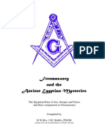 Freemasonry & the Ancient Egyptians