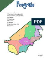 El Progreso Es Un Departamento Que Se Encuentra Situado en La Región Nororiental de República de Guatemala