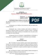 DPE Regulamento Do Estágio Não Remunerado