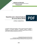 Criterios de APCN 2017 - Letras