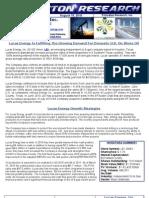 Domestic Oil Production Stock Report