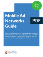 Mobile Ad Networks 2017 Guide