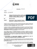 Circular 0010 del 3 de febrero 2017, Pago de Incapacidad Temporal despues de pagada una IPP..pdf