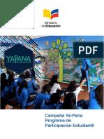 Lineamientos Campaña YaPana Sierra 17-18