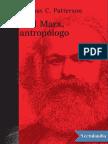 Patterson_Karl Marx, Antropólogo