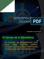 Estadística en Educación