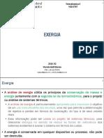 06. Termodinâmica II. Exergia e Exergia de Combustão