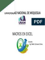 1_Macros en Excel UNAM 2017-II