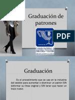 Graduacion de Patrones