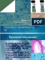 Diagnosticul bacteriologic al Tuberculozei.ppt
