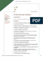 El Arte Del Buen Maestro - Portafolio El Sujeto y Su Formación