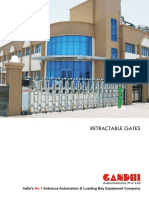 Retractable Gates Brochure