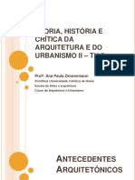 História Da Arquitetura
