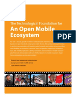 An Open Mobile Ecosystem